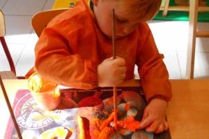 PK1 - Groentenmandjes maken